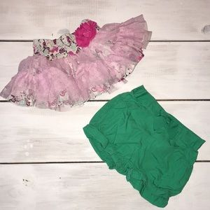 Other - 2 pair of toddler shorts - Hello Kitty & Gymboree